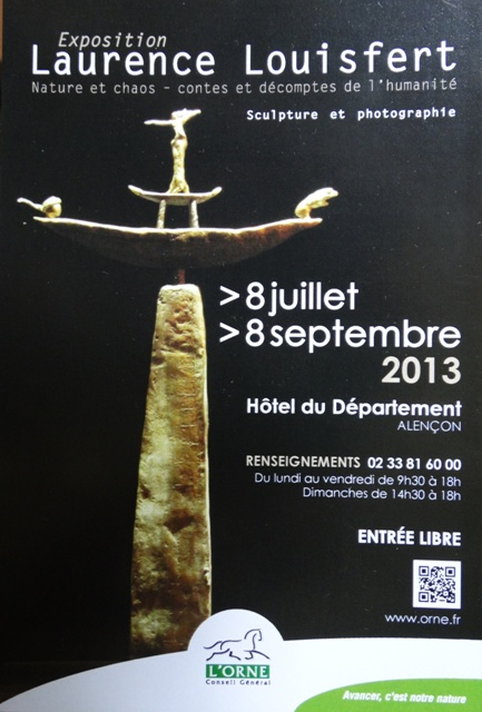 Affiche expo laurence